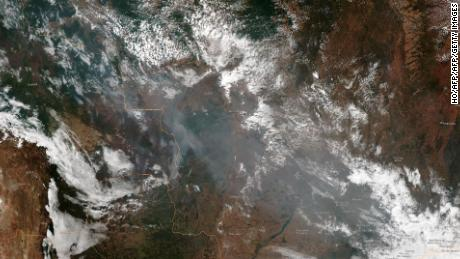 Wildfires rage in the Amazon