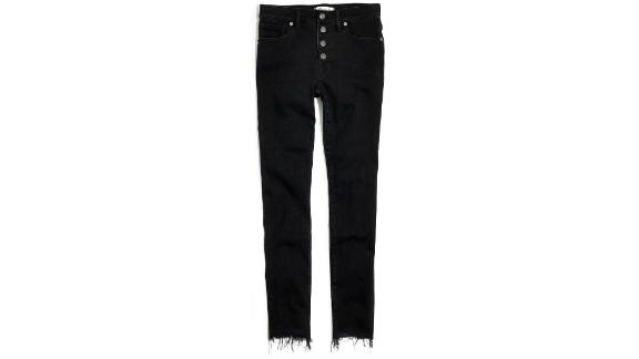 Madewell 9-Inch Button High Waist Ankle Skinny Jeans ($135; nordstrom.com)