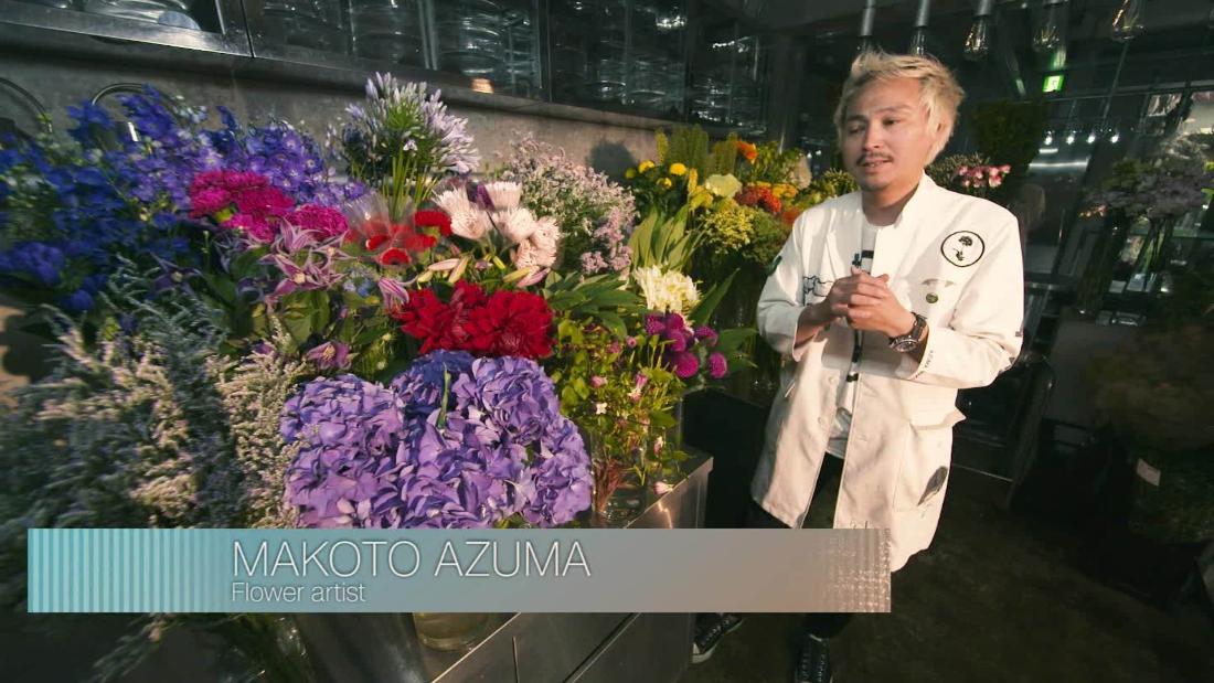 The Japanese art of flower arrangement