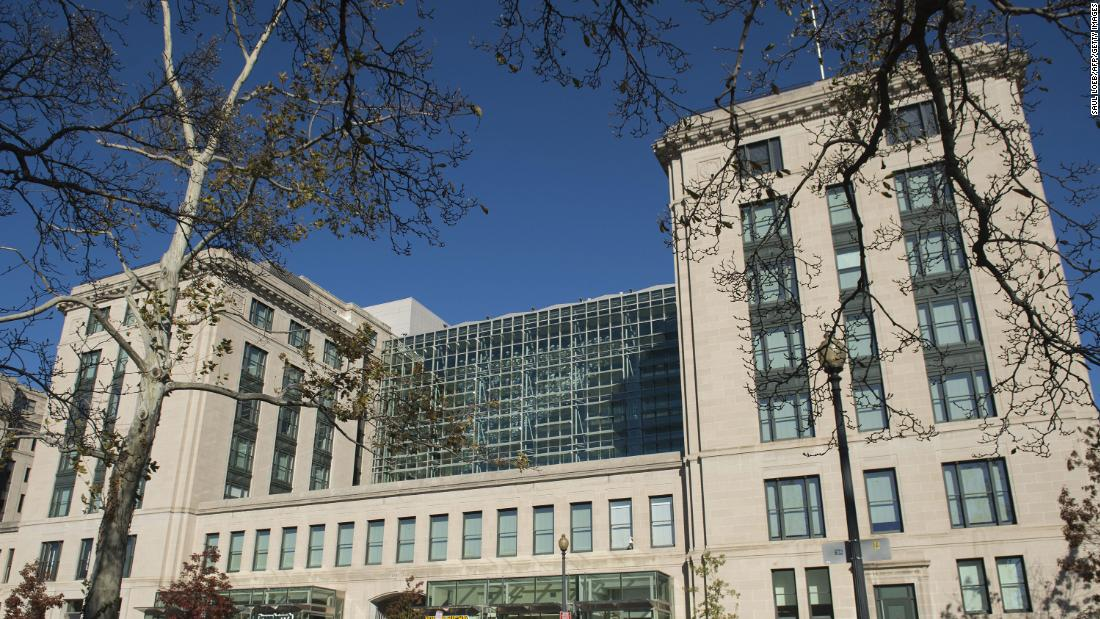 GSA official had sex with White House staffer on roof of agency's HQ, watchdog report says