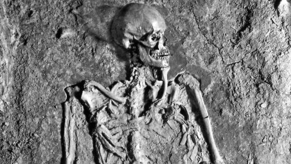 The remains inside grave IIIN199, found under Prague Castle in 1928, belong to a man from the 10th century. His identity has been the subject of great debate for years.