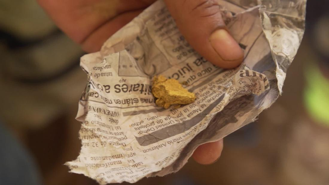 La economía del oro en Venezuela