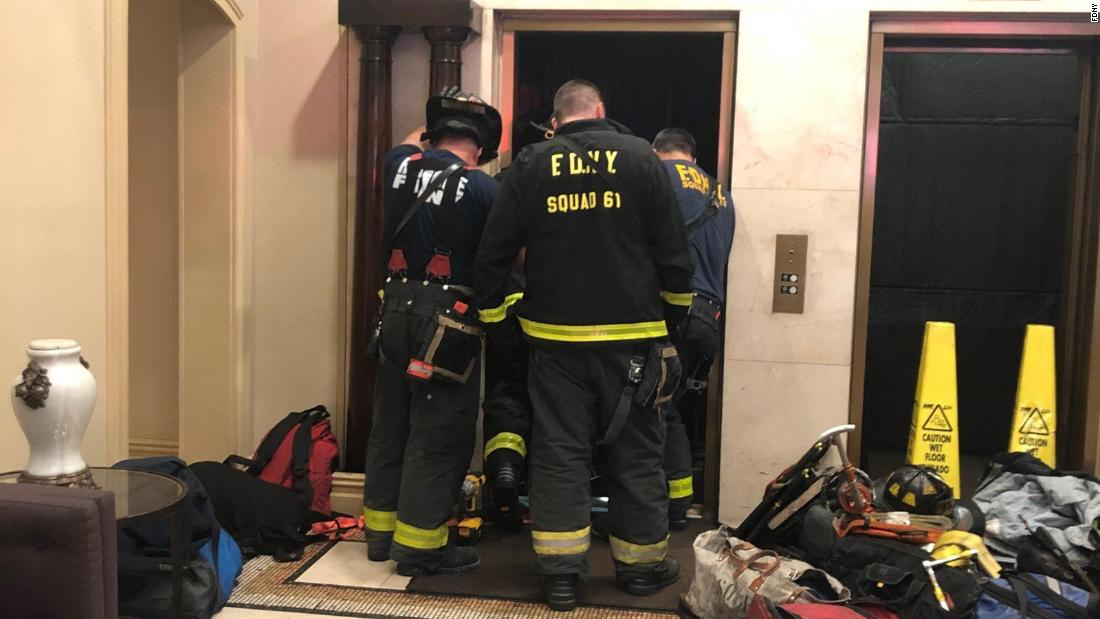 New York man crushed to death by elevator at apartment building