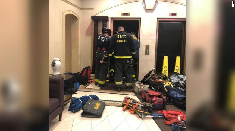 Man dies after being crushed by elevator in New York