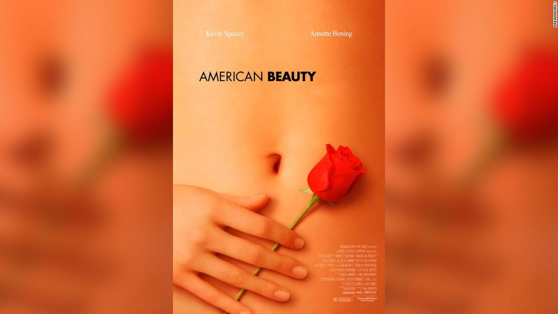 The hand on that iconic 'American Beauty' poster actually belongs to a famous actress