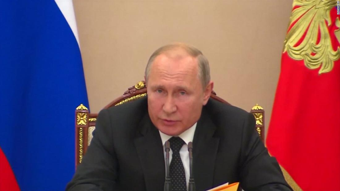 Putin orders military response to US missile test