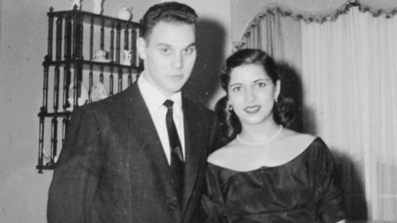 Ginsburg met her husband, Martin, while attending Cornell University, and both went on to study law. The couple were engaged in December 1953.