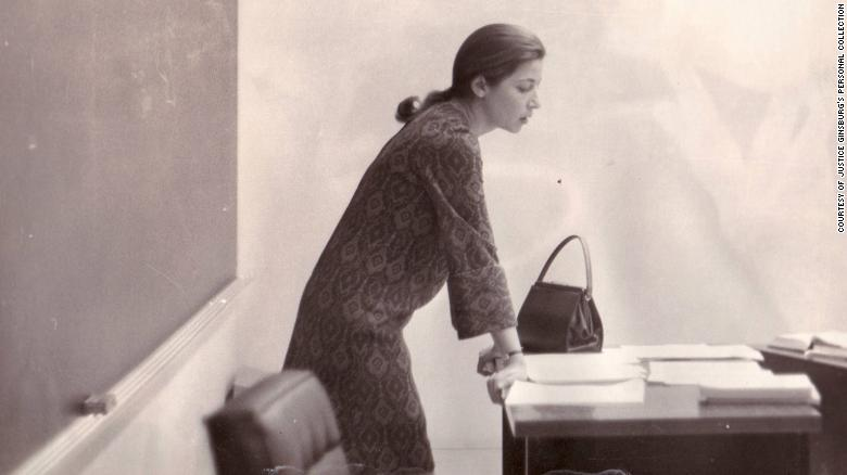 Ginsburg was the first woman to be hired with tenure at the Columbia University School of Law. She also taught at the Rutgers University School of Law.