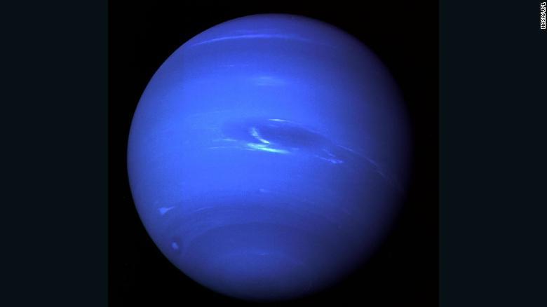 Neptune's moons perform a strange orbit dance around each other