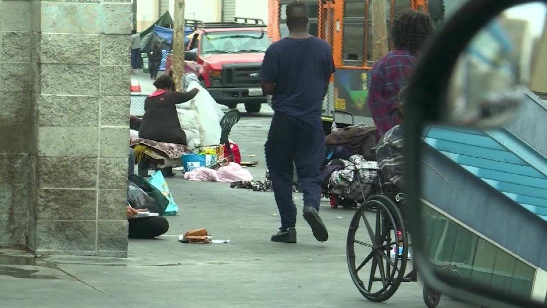 Homelessness is reaching an emergency level in Los Angeles