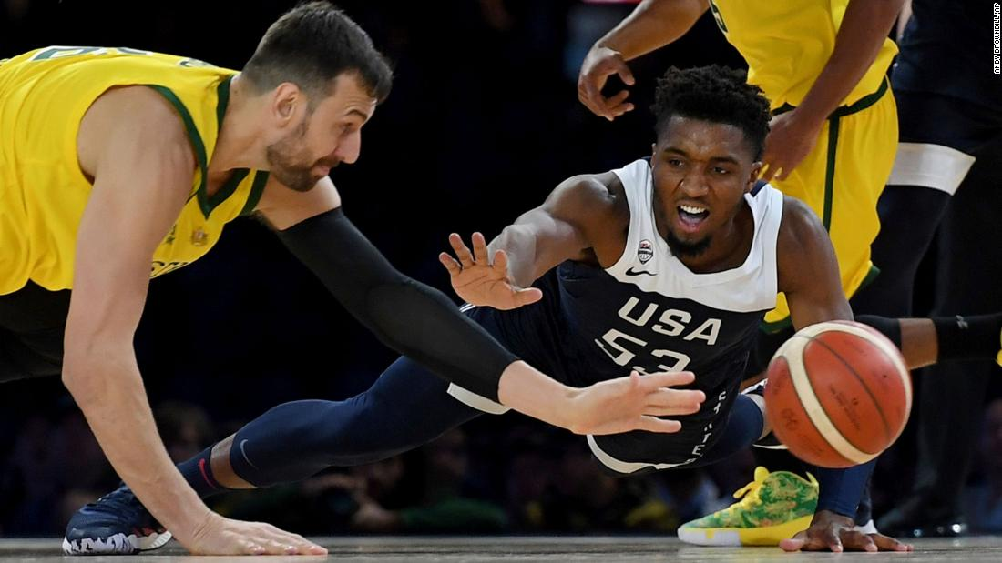 US men's basketball team loses its first game in nearly 13 years