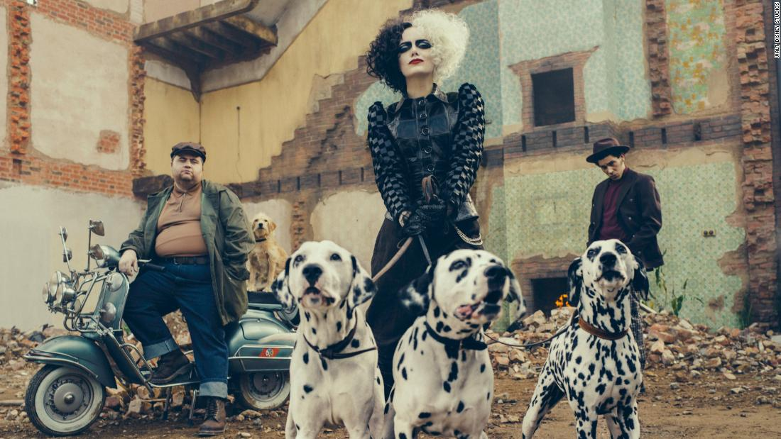 Disney reveals Emma Stone's new look as a punk rock Cruella de Vil