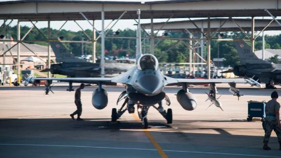 The F-16s at Shaw Air Force Base in South Carolina will stay on the ground while airmen get two extra days off and one day in Suicide Prevention Awareness sessions.