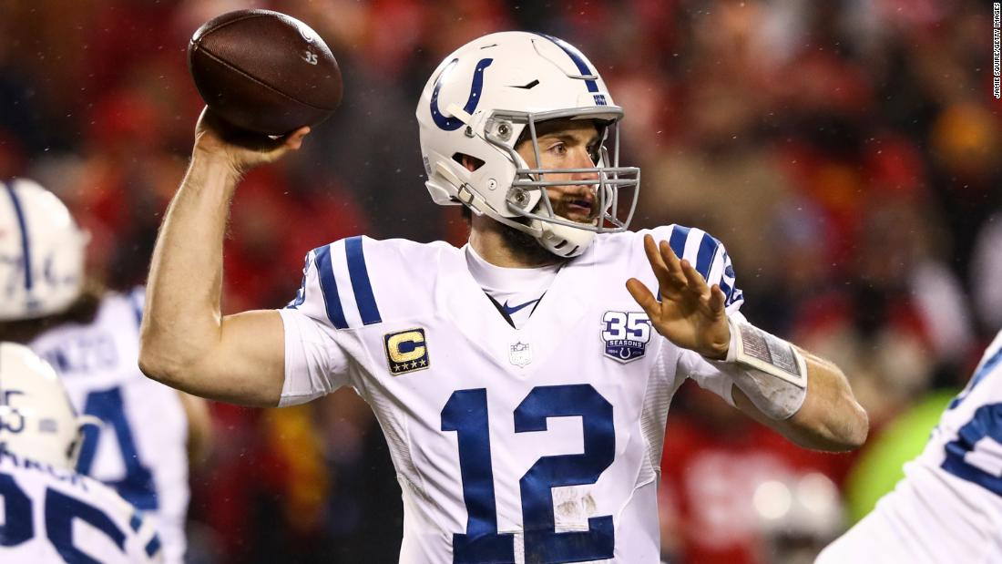 Some fans booed Andrew Luck for retiring. But the NFL community is showing him lots of love