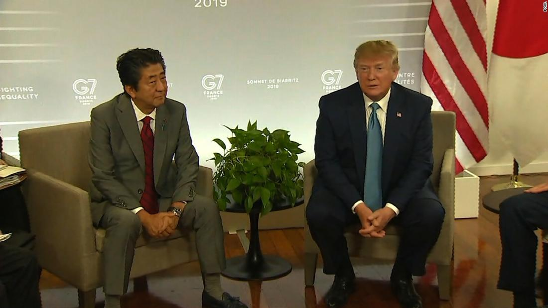 As disputes boil at G7, Trump softens on trade war