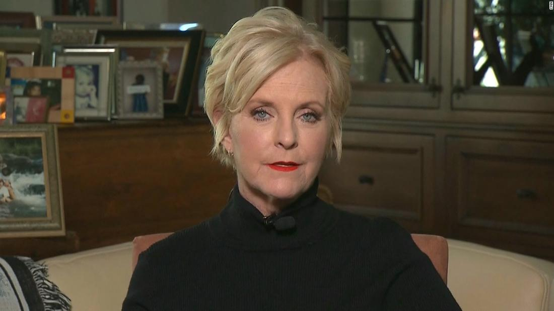 Cindy McCain says GOP no longer the 'party that my husband and I belonged to'