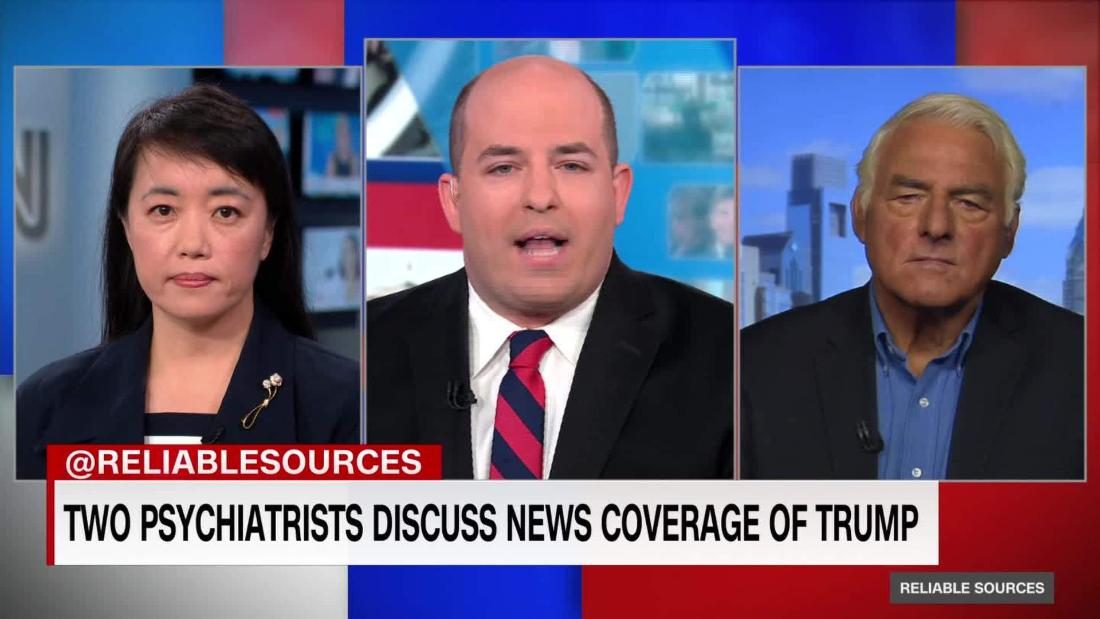 Two psychiatrists discuss coverage of Trump