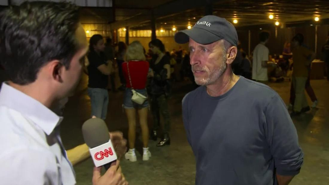 CNN goes one-on-one with Jon Stewart at Dayton benefit