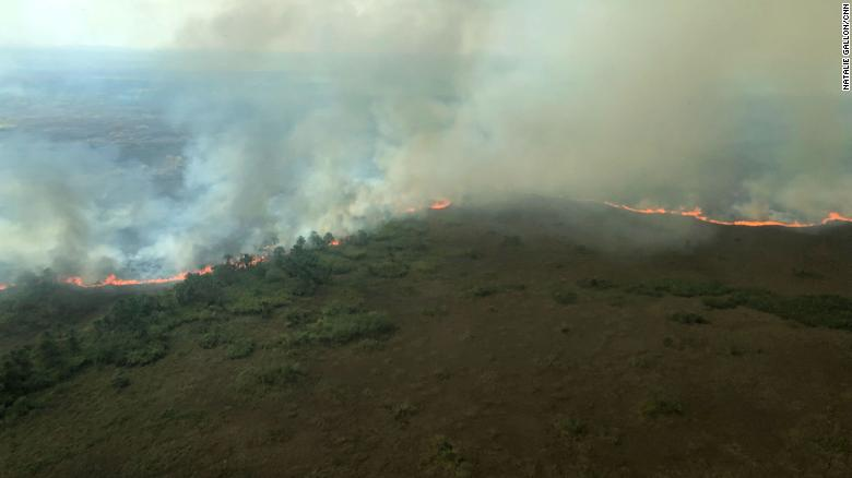 The Brazilian state of Rondonia has 6,436 fires burning so far this year in it, according to Brazil's National Institute for Space Research (INPE).