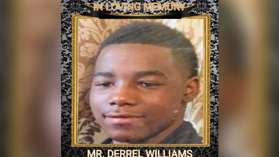 Derrel Williams, 15, died at the hospital after suffering multiple gun shot wounds in June.