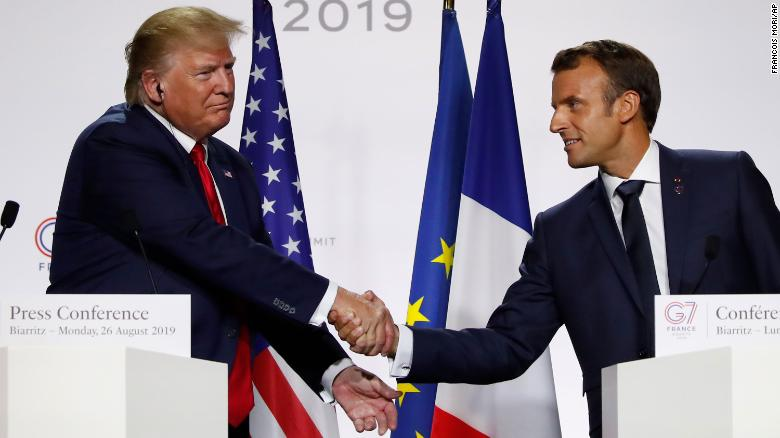 Macron Shook Up The G7 With His Fancy Diplomatic Footwork Cnn