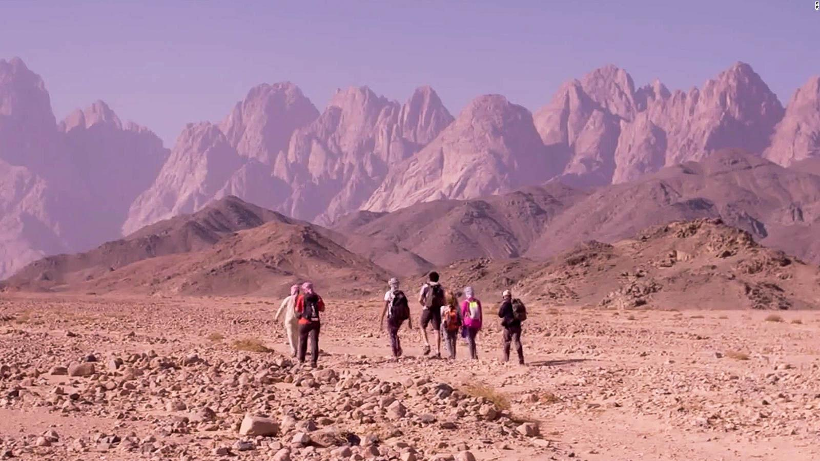 How Egypt S Red Sea Mountain Trail Set New Tracks Into The Wild Cnn Travel