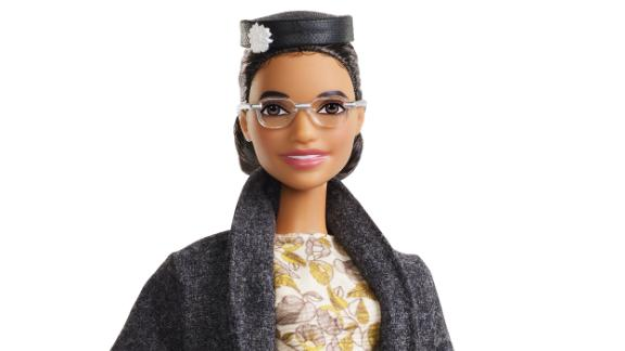 The new Rosa Parks Barbie.