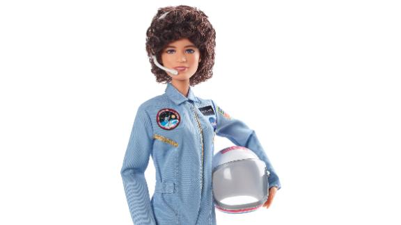 The new Sally Ride Barbie.