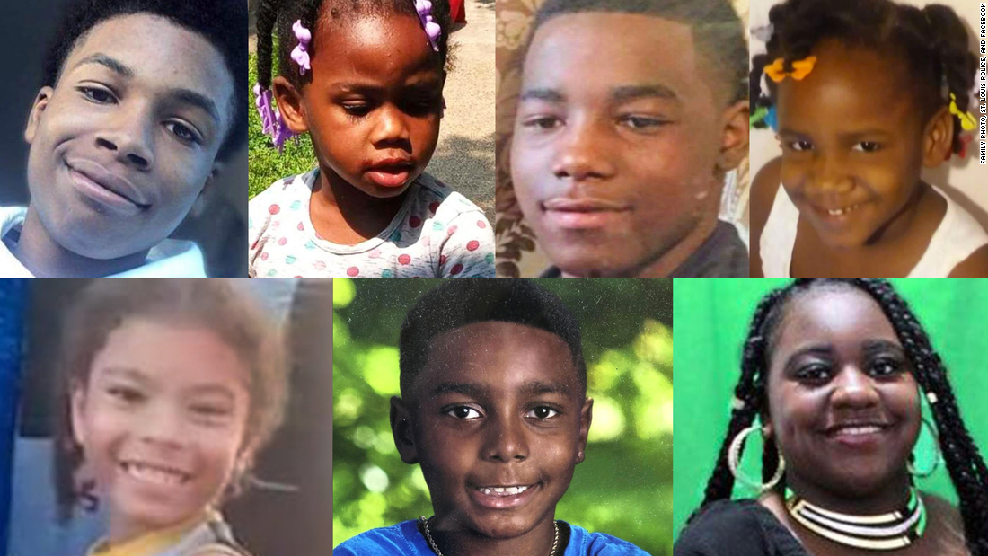 St. Louis remembers its young homicide victims in a candlelight vigil
