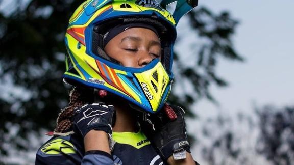 Tanya Muzinda has won regional and international Motocross tournaments