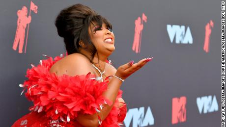 A commentator claimed Lizzo's famous because America has an obesity epidemic. Lizzo wasn't having it
