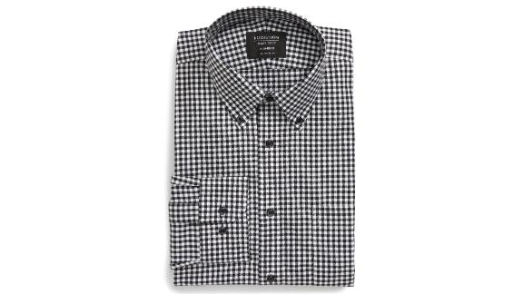 Traditional Fit Non-Iron Gingham Dress Shirt ($49.50; nordstrom.com)
