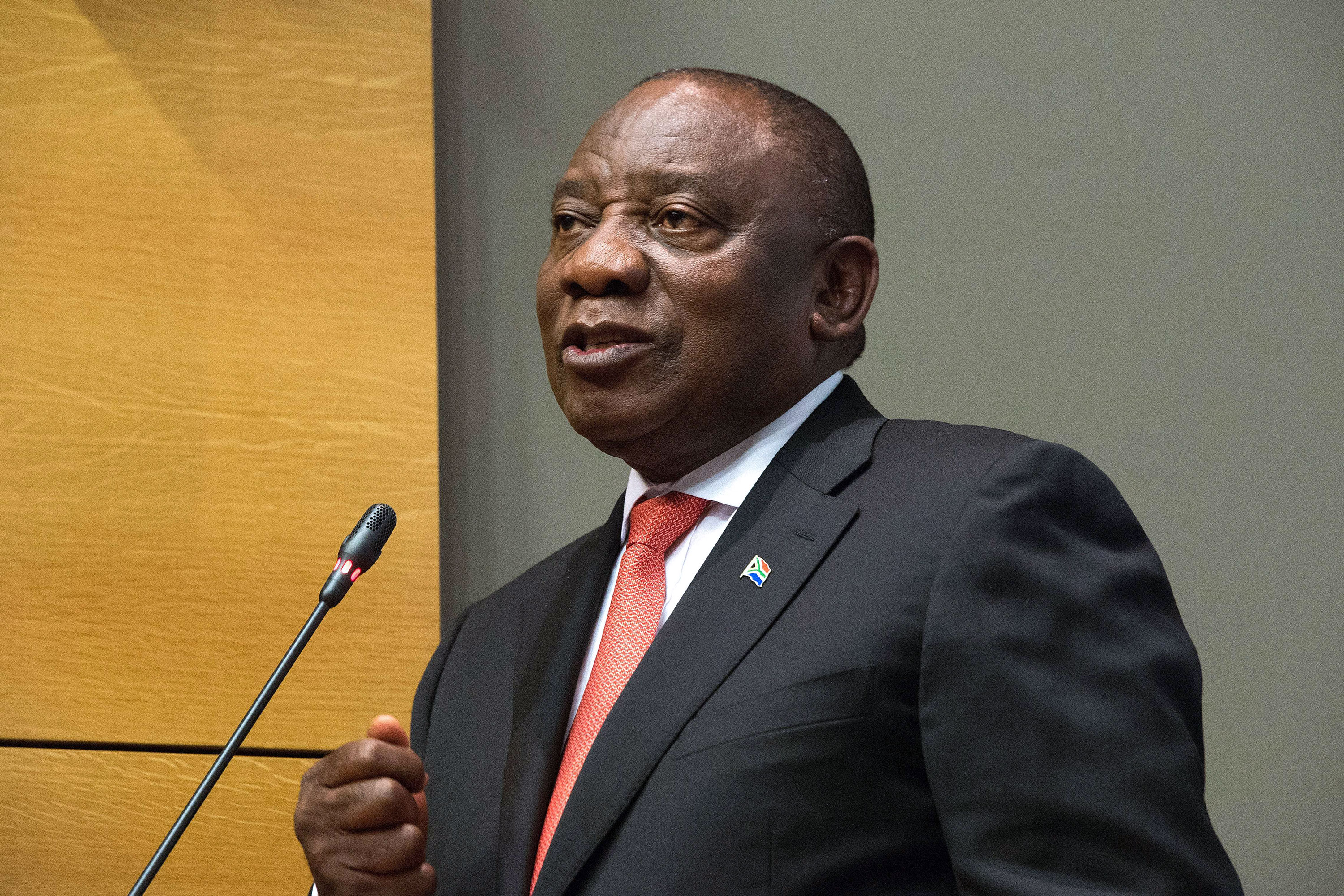 South African President Cyril Ramaphosa We Re Battling Two Pandemics Cnn Video