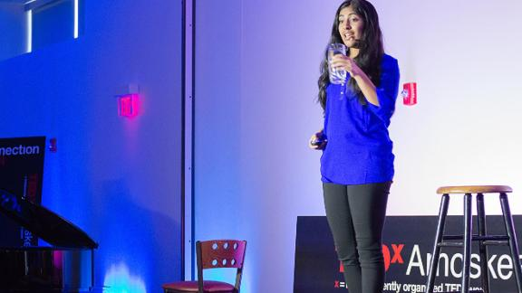 Kurup has given Ted talks and won numerous awards thanks to her ingenious invention -- a solar-activated material that reduces the bateria in water.
