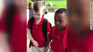 Two elementary school boys in Wichita, Kansas, set an example from which we can all learn: a lesson in kindness.