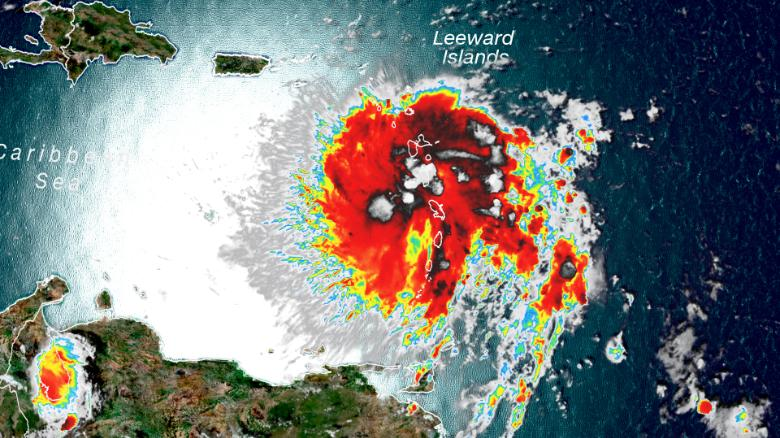 Startling Satellite Imagery Shows Dorian S Size