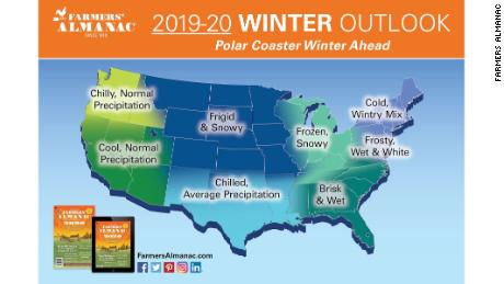 Accuweather Winter Forecast 2020.Farmers Almanac Expect A Polar Coaster And Really Cold