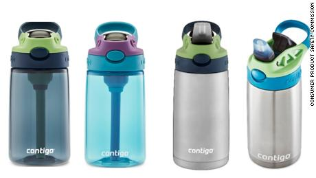 Recalled Contigo Kids Cleanable Water Bottles