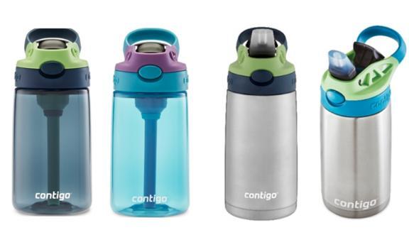 Recalled Contigo Kids Cleanable Water Bottles