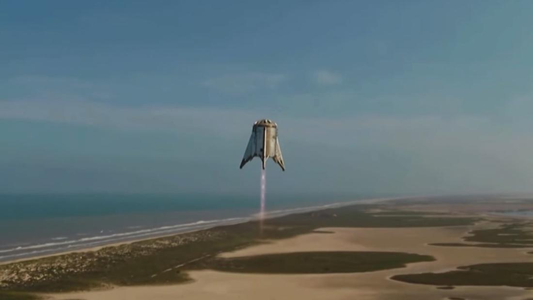 Elon Musk teases photos of Mars rocket prototype