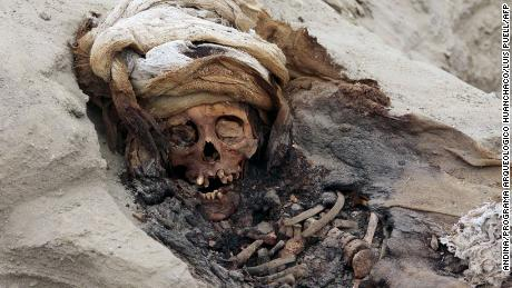Remains of 250 sacrificed children found in Peru