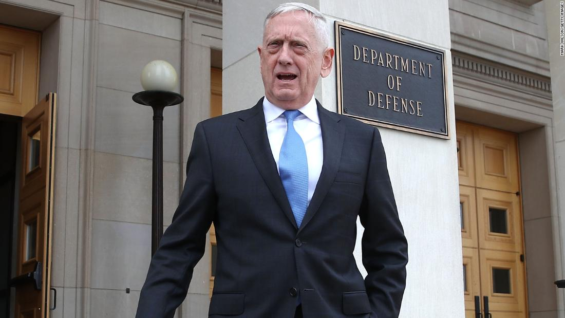 Trump ordered Mattis to 'screw Amazon' on Pentagon contract, according to new book
