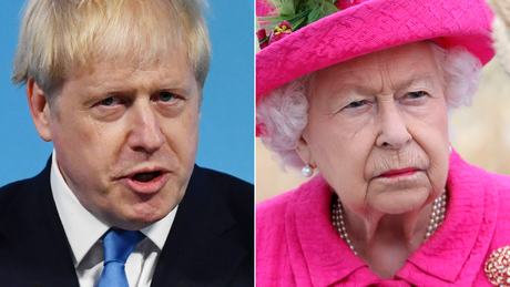 Boris Johnson's move has put the Queen at the center of a political controversy.