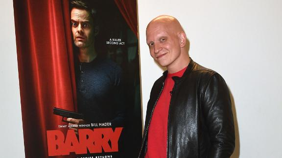 "Anthony Carrigan attends ""Barry"" FYC on May 3, 2019 in Los Angeles, California.  (Photo by FilmMagic/FilmMagic for HBO)"