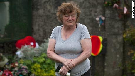 """Survivor Christina Caroll lived at Tuam home until she was 8. """"I have a memory of being hungry all the time. I was so hungry I remember one of the nuns asking me to feed a small baby -- I gave the child a little bit and ate the whole thing myself. When I was finished the nun beat me because I took the baby's food."""""""