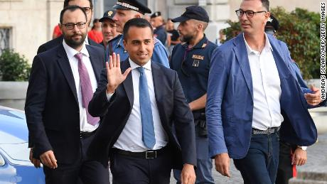 Italian parties strike deal for new government in blow to Salvini