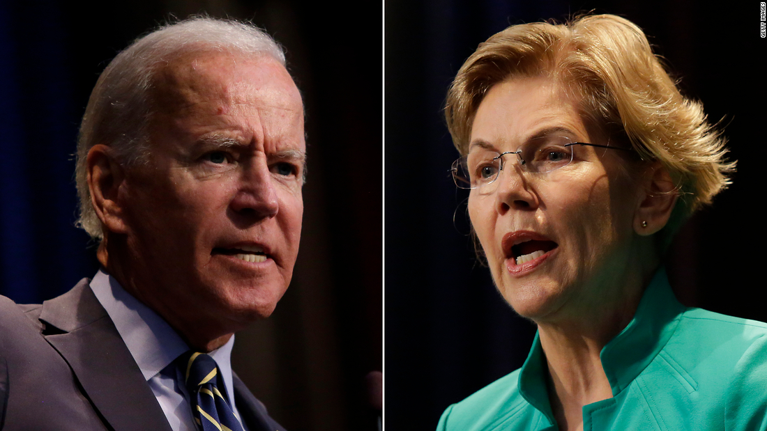 Elizabeth Warren surges and Joe Biden fades in close Iowa race, new poll shows