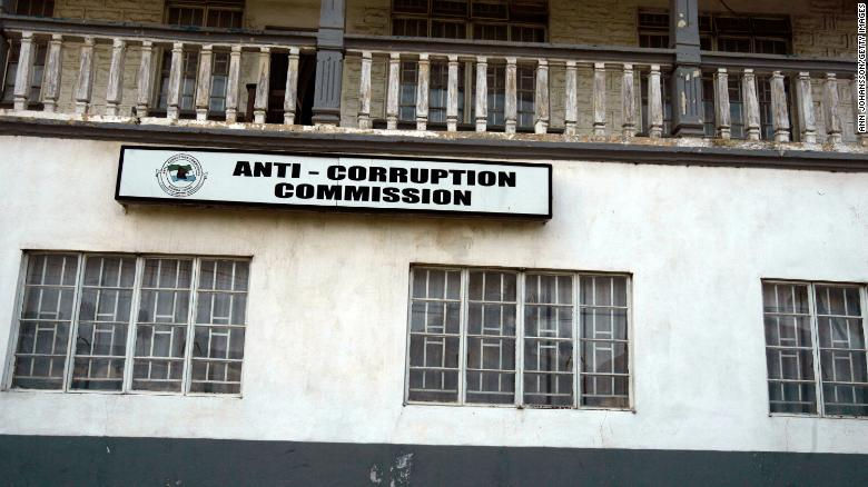 An Anti-Corruption Commission office in Bo, Sierra Leone.