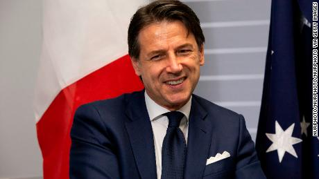 Italy's Prime Minister Giuseppe Conte returns to patch together a new Salvini-free government