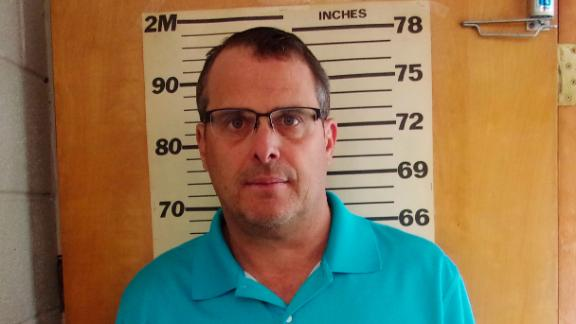 This undated booking photo provided by the Glen Dale Police Department shows West Virginia state Sen. Mike Maroney. He has been charged with soliciting a prostitute. The Republican lawmaker turned himself in and was arraigned Wednesday morning, August 28, 2019, a Marshall County court clerk said.